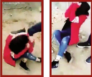 حرفهای دختری که فیلم ضرب و شتماش جنجالآفرین شد