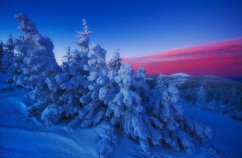 عکس/ آسمان داغ زمین یخی در عکس روز نشنال جئوگرافیک