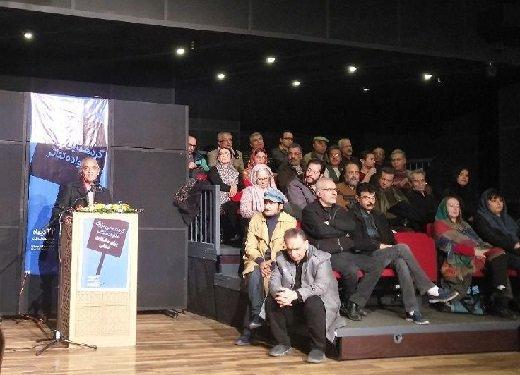 گردهمایی اعتراضی هنرمندان تئاتر+عکس