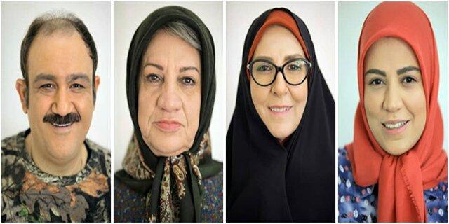 گریم مهران غفوریان و مرجانه گلچین در سریال نوروزی+عکس