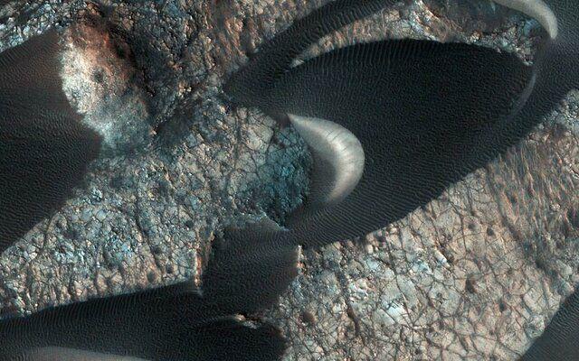تپههای ماسهای مریخ را ببینید+عکس