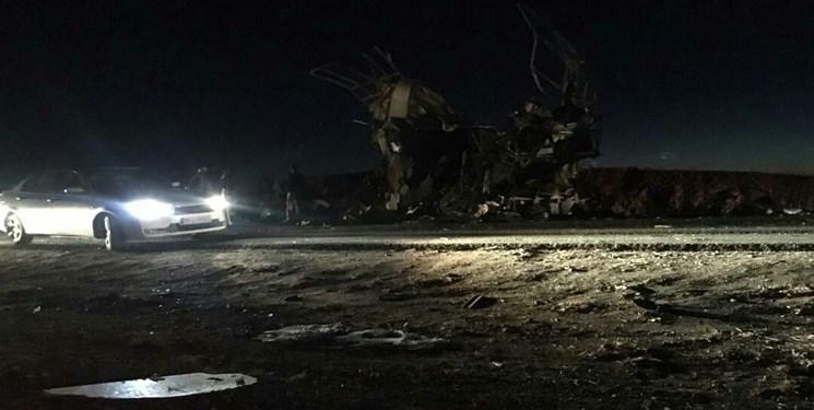 حمله تروریستی به اتوبوس سپاه در سیستان و بلوچستان| دستکم 20 شهید و 20 زخمی+فیلم و عکس