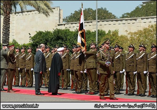 سفر رئیسجمهور به عراق| روحانی: احساس ما در عراق احساس بودن در وطن خودمان است