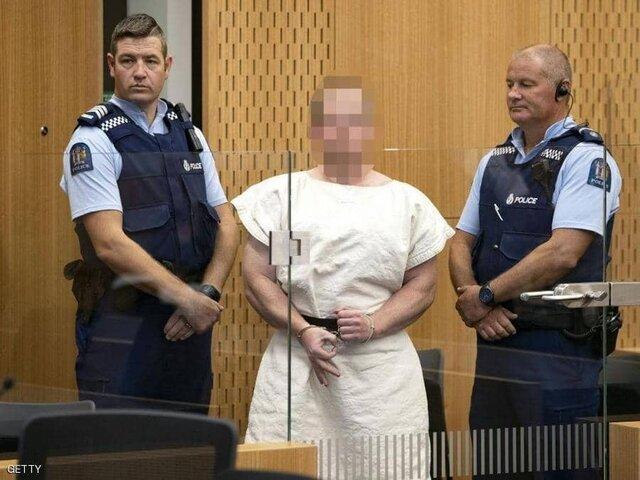 عامل حمله به دو مسجد نیوزیلند تفهیم اتهام شد/نخستوزیر: قانون مالکیت اسلحه باید تغییر کند