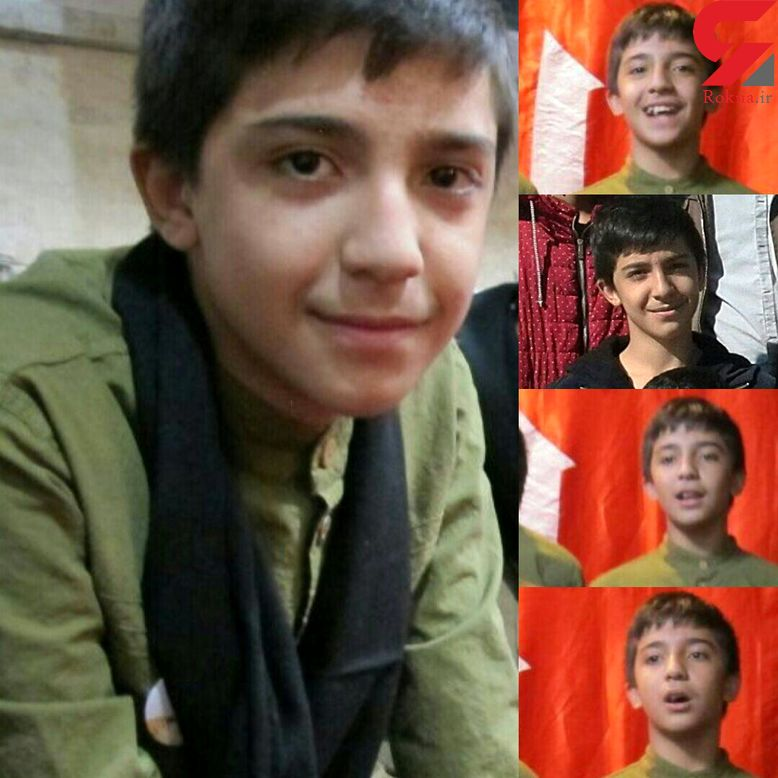 عکس امیر حسین 14 ساله نخستین قربانی چهارشنبه سوری تهران +عکس