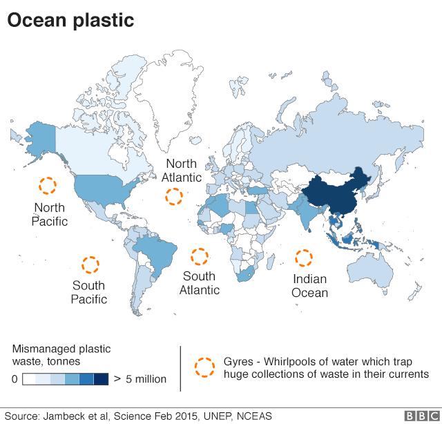 در معده نهنگی در فیلیپین چهل کیلو پلاستیک پیدا شد+عکس
