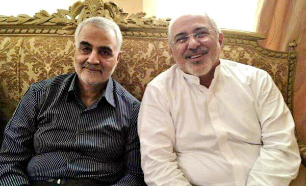 واکنش سردار سلیمانی به استعفای وزیرخارجه:ظریف مورد حمایت و تایید رهبری است|ناهماهنگی در نهاد ریاستجمهوری بود| هیچگونه تعمدی برای عدم حضور ظریف در ملاقات با بشار اسد نبوده است