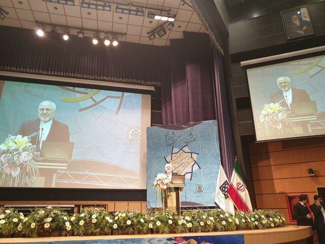 ظریف در اولین سخنرانی پس از رد استعفایش: بدون مردم