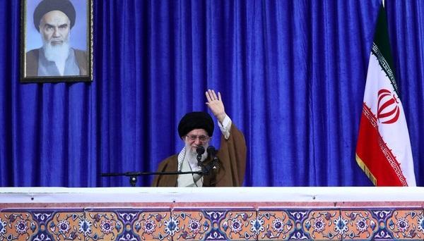 رهبر انقلاب: از طرف ملت ایران میگویم: آقای ترامپ! شما غلط میکنید/شرط رهبری برای تداوم برجام