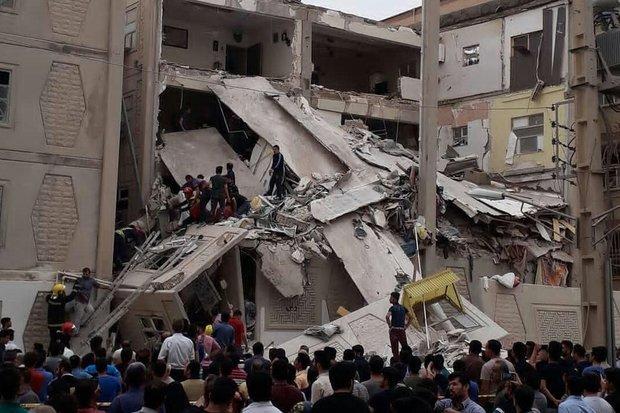 انفجار در یک منزل ۳ طبقه در اهواز/حال یک نفر وخیم است