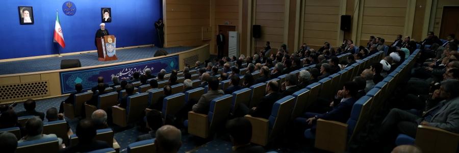 واکنش روحانی به ادعاهای پمپئو: شما چه کارهاید که میخواهید برای ایران و جهان تصمیم بگیرد