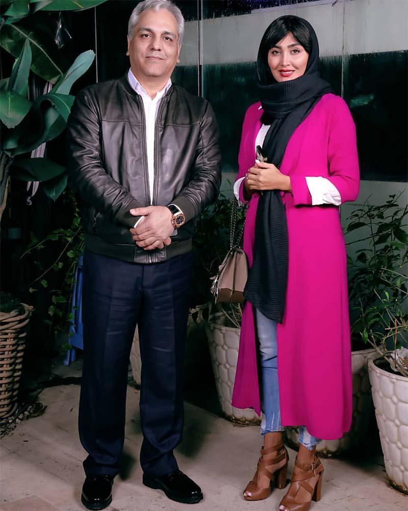مهران مدیری و مریم معصومی دیشب در یک مراسم + عکس