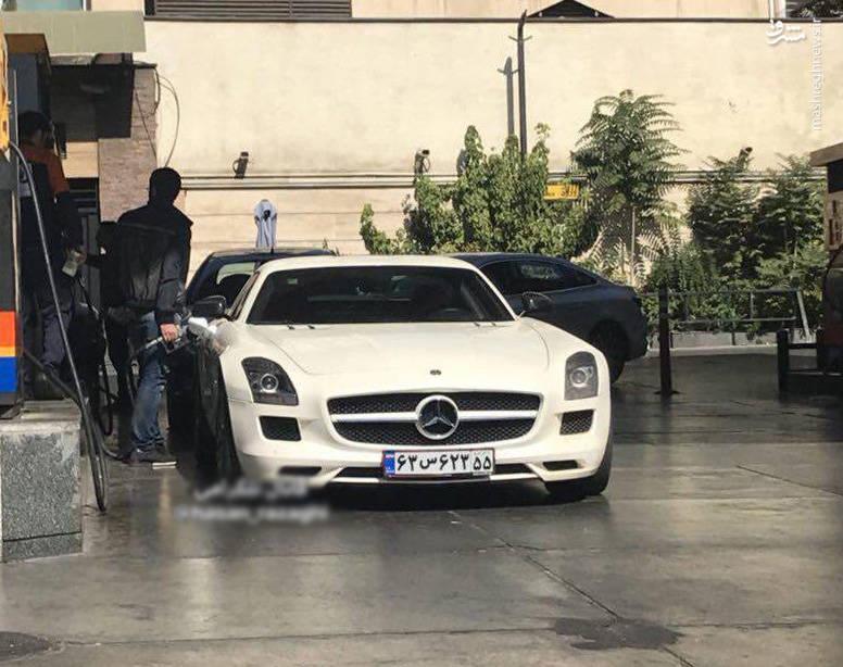خودروی لوکس آلمانی در تهران/عکس