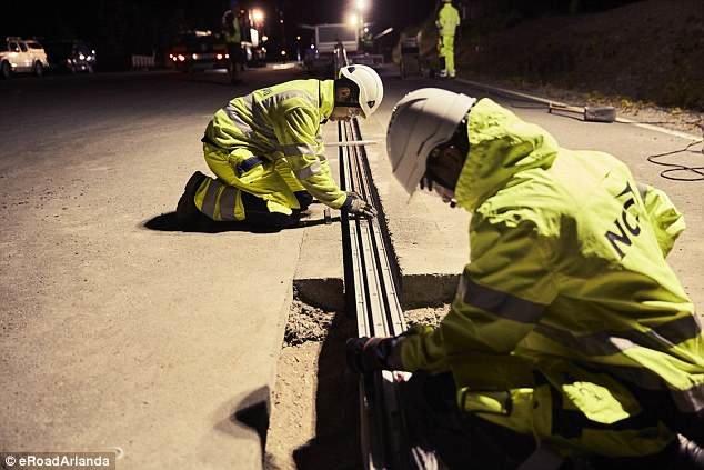 سوئد اولین جاده برقی درجهان را احداث کرد +عکس