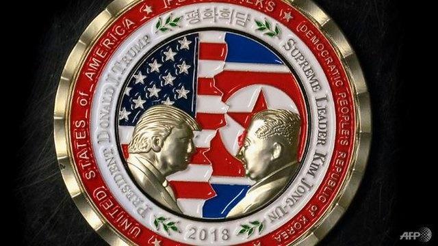 آمریکا برای نشست کیم–ترامپ سکه یادبود ضرب کرد +عکس