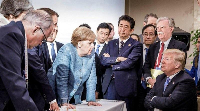 اعلان جنگ آمریکا به گروه جی 7/ترامپ امضای بیانیه مشترک را پس گرفت