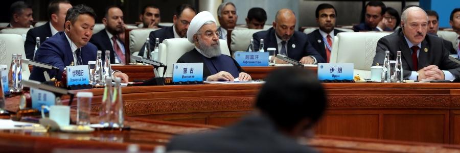 هشدارهای روحانی در اجلاس شانگهای درخصوص پیامدهای لغو برجام و انتقاد از تحریمها