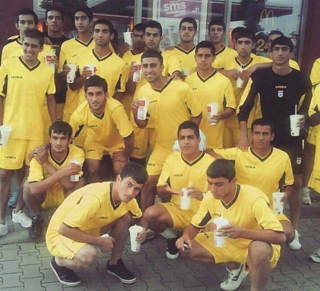 تصویر قدیمی جالب از ملیپوشان فوتبال حاضر در روسیه + عکس
