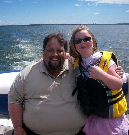 مردی که 100 کیلو وزن کم کرد