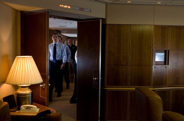 به درون هواپیمای عجیب و خصوصی ترامپ خوش آمدید/تصاویر+جزییات