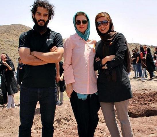 «بازیگر ایرانی» در کنار همسر فرانسویاش +عکس