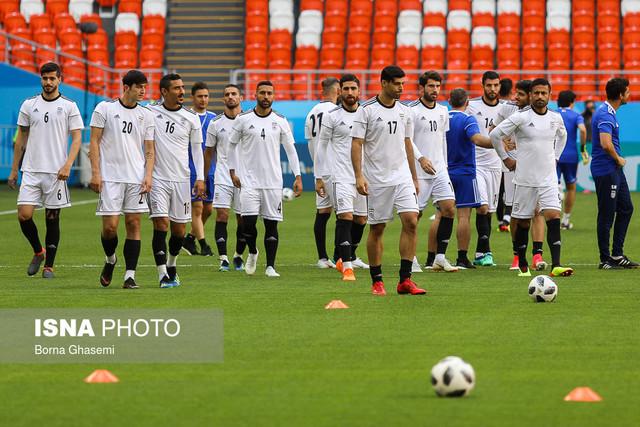 آخرین تمرین تیم ملی پیش از مصاف بزرگ با پرتغال+تصاویر