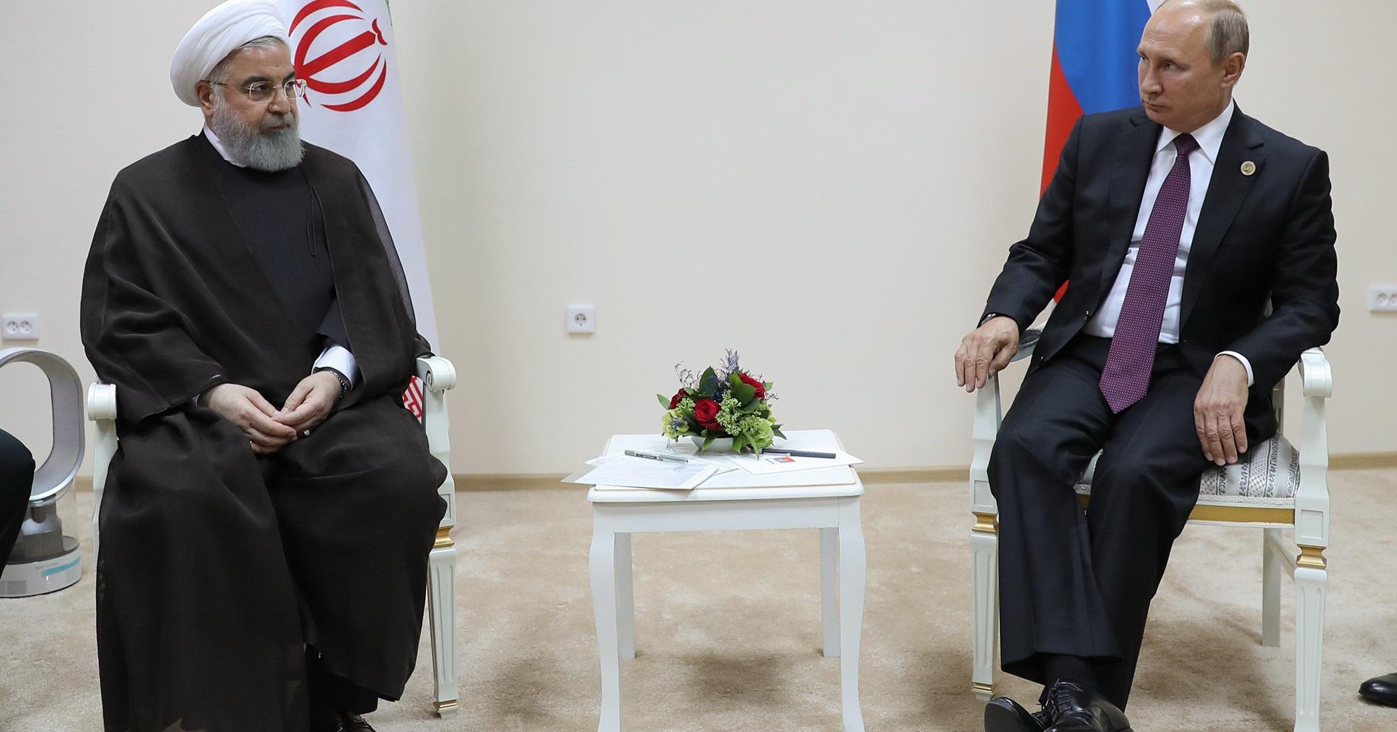 رایزنی روحانی و پوتین درباره مهمترین مسائل دوجانبه، منطقهای و بینالمللی/ ضرورت تلاش برای حفظ و استحکام برجام+تصاویر