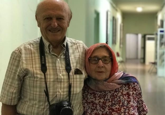 زوج آمریکایی ۶۰ سال پس از ازدواجشان دوباره به ایران آمدند+ عکس