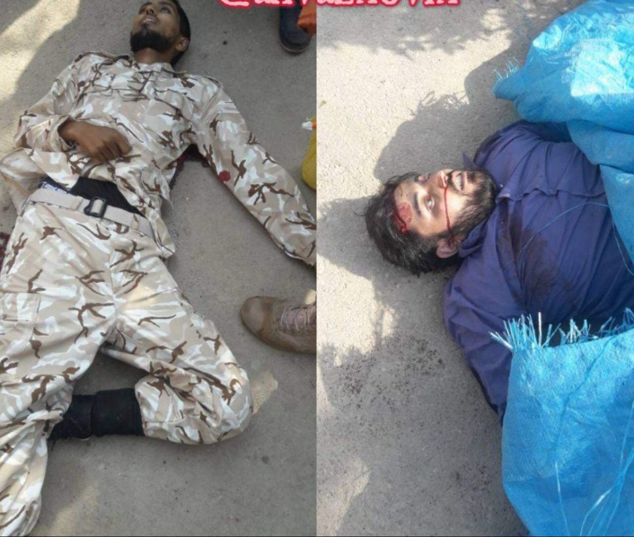 اولین تصویر منتشر شده از دو عضو گروهک تروریستی الاحواز
