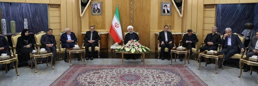 رئیسجمهور: برای ادامه برجام رایزنی خواهیم کرد  مسائل سوریه و یمن جای صحبت با کشورهای دوست را دارد