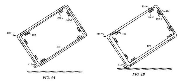 پتنت اپل برای یک قاب موبایلی مغناطیسی+تصاویر