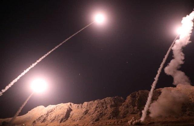 حمله موشکی سپاه به مقر سرکردگان جنایت تروریستی اهواز در شرق فرات+تصاویر