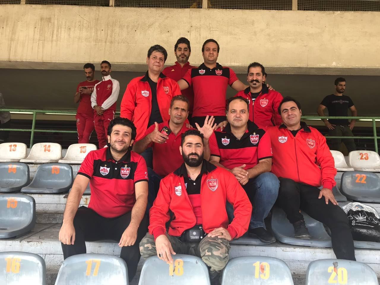 اولین تصویر از هواداران پرسپولیس در ورزشگاه آزادی