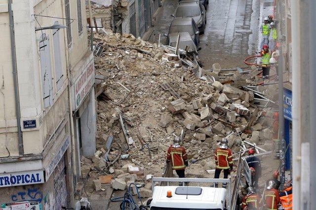 ریزش مرگبار ۲ ساختمان در جنوب فرانسه