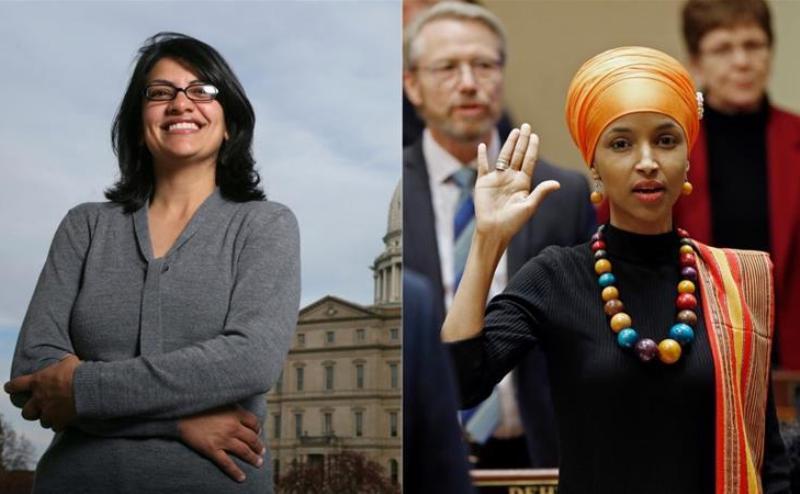 2 زن مسلمان به مجلس آمریکا راه یافتند+عکس