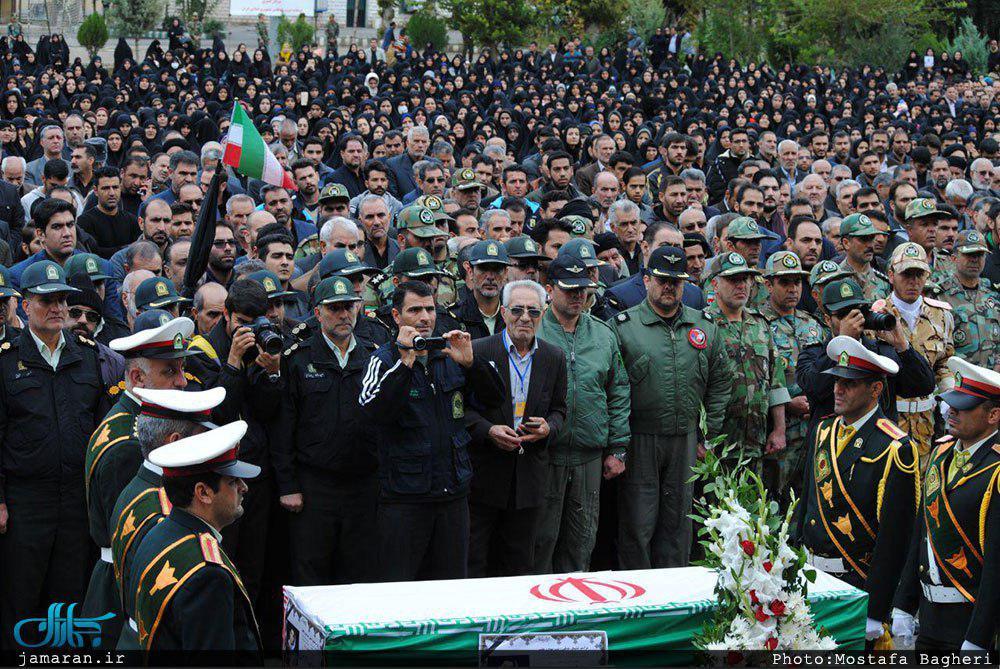 پیکر شهید سیدنورخدا موسوی تشییع شد  اظهارات فرمانده نیروی انتظامی