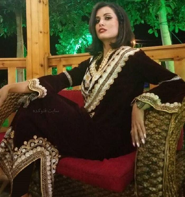 لباس بانوی هنرپیشه عرب قبل از حضور در ایران سوژه شد ! + عکس