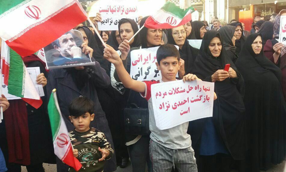 حمله احمدینژاد به دولت و پیشنهاد مناظره و استعفای روحانی  چرا احمدینژاد به جای پاسخگویی، راه تهاجم را در پیش گرفته؟ چه کسانی خواهان کنارهگیری دولت روحانی هستند؟