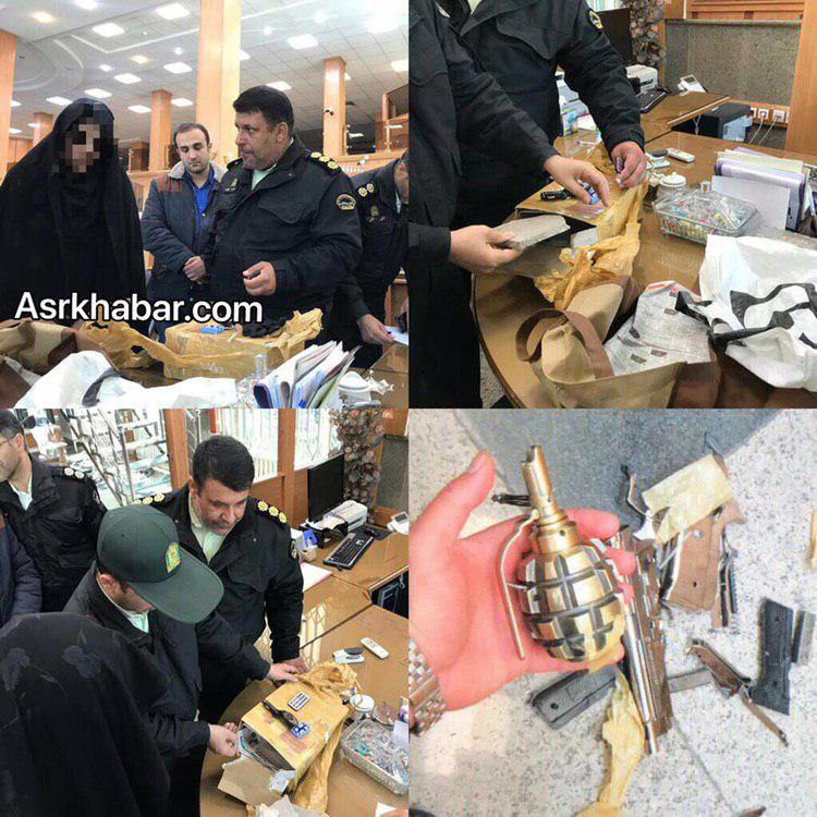 دستگیری عامل تهدید به بمب گذاری یکی از بانک های فرمانیه تهران +عکس