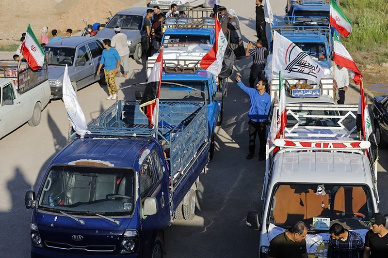 حشد الشعبی در ایران چه میکند؟