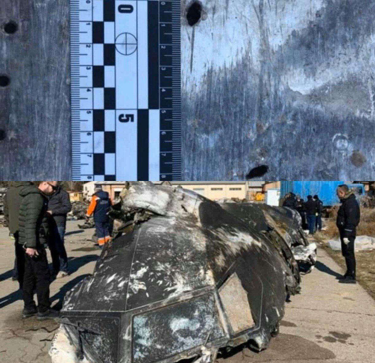 عکس| بازسازی بقایای هواپیمای سرنگون شده اوکراینی در تهران/ جزئیات جدید از شلیک موشک و مرگ خلبان