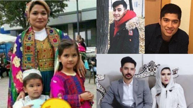 7 نفر از قربانیان افغان حادثه هواپیمای اوکراینی شناسایی شدند+عکس