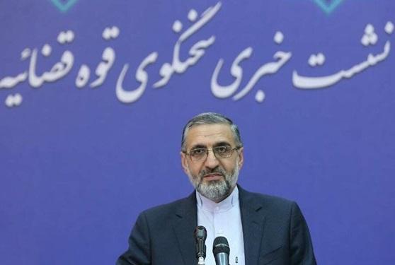 سخنگوی قوه قضاییه: تشییع شهید سلیمانی همایش قدرت نظام و رفراندوم خیابانی بود/بازداشت تعدادی از افراد بخاطر سقوط هواپیما/سفیر انگلیس عنصر نامطلوب است
