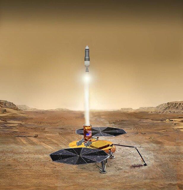 اولین نمونه از خاک مریخ ۱۰ سال دیگر به زمین میرسد