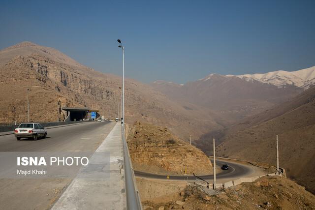 تردد آزمایشی از آزادراه تهران-شمال تا دو هفته آینده