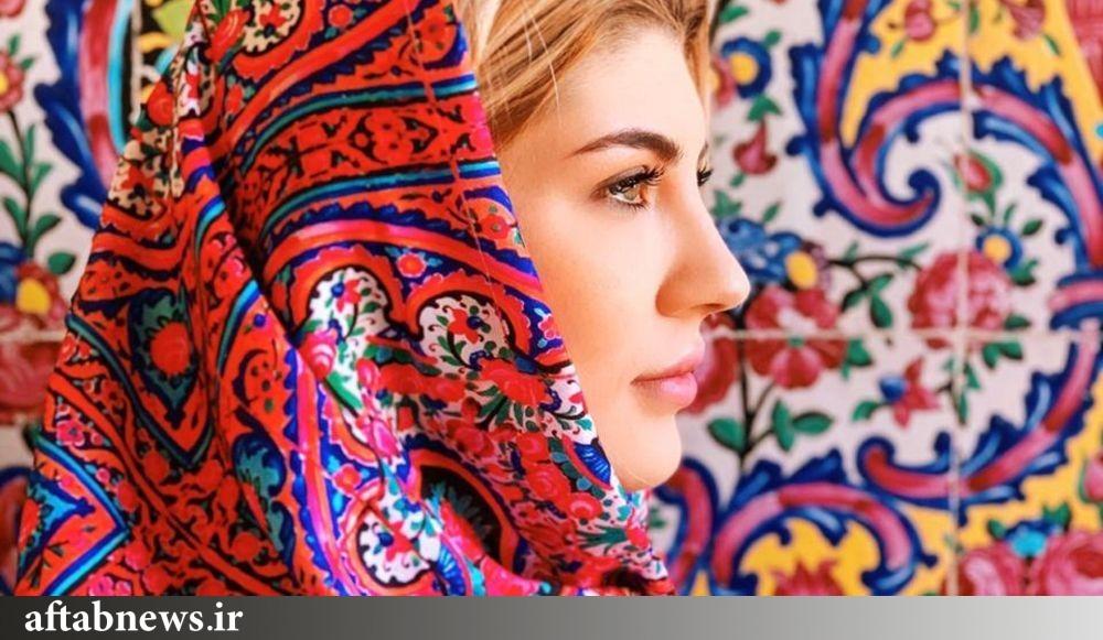 دختر روس که جاذبههای ایران را در اینستاگرام معرفی میکند+عکس