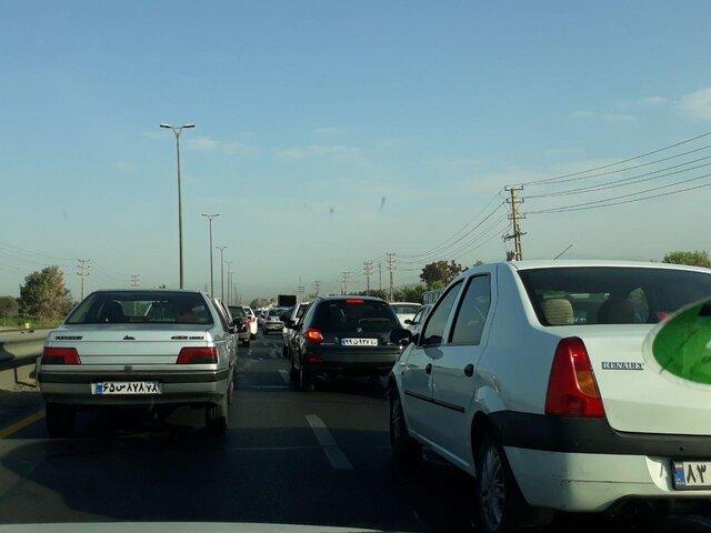 ترافیک سنگین در هراز/ اختلالات ترافیکی در دیگر جادهها مشاهده نمیشود