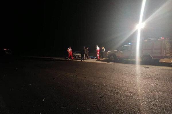 تصادف در محور کوهدشت- کرمانشاه یک کشته و ۴ زخمی برجای گذاشت