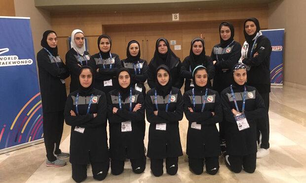 پایان کار دختران تکواندوکار با 7 مدال طلا و برنز در ترکیه