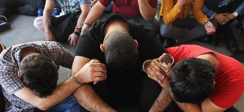دستگیری 55 سارق حرفهای در اهواز